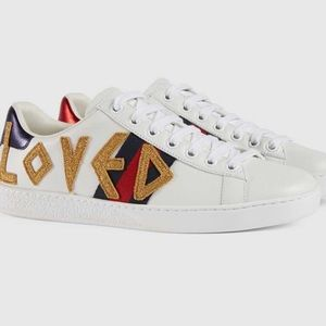 ❣️🐝Gucci women Ace embroidered sneaker